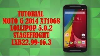 Motorola Moto G 2014 2ªGen Lollipop 5.0.2 SEPTIEMBRE 2015 Rom STAGEFRIGHT Stock OFICIAL tutorial #9