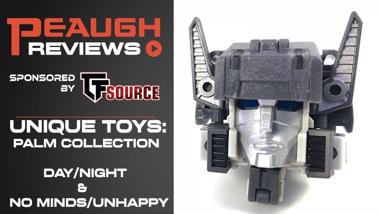 Transformers Action Figure Unique Toys Palm Series YM-04 NO MINDS /& UN HAPPY