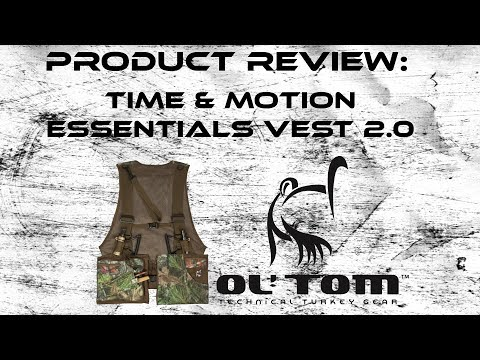 Ol' Tom Time And Motion Turkey Vest Product Review
