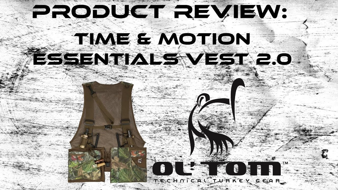 cbfe56c3742d6 Ol' Tom Time and Motion Turkey Vest Product Review - YouTube