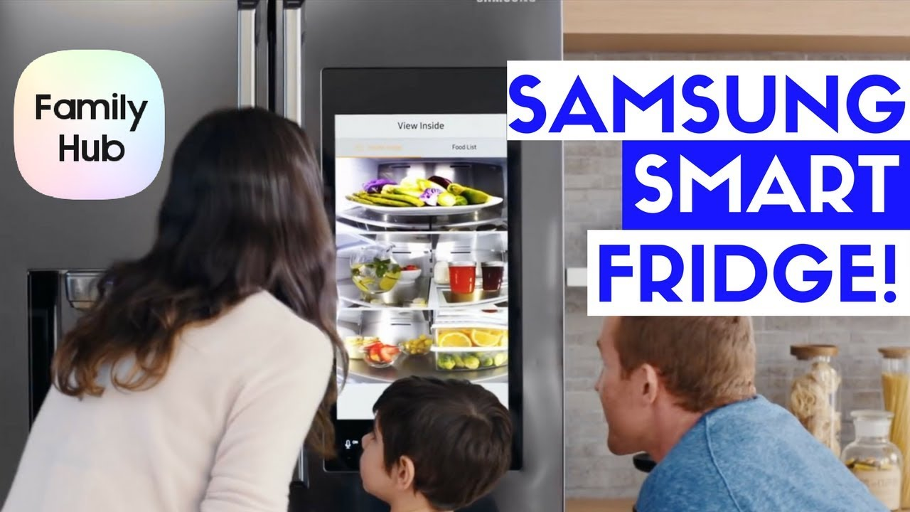 samsung family hub 2 0 smart refrigerator review youtube. Black Bedroom Furniture Sets. Home Design Ideas