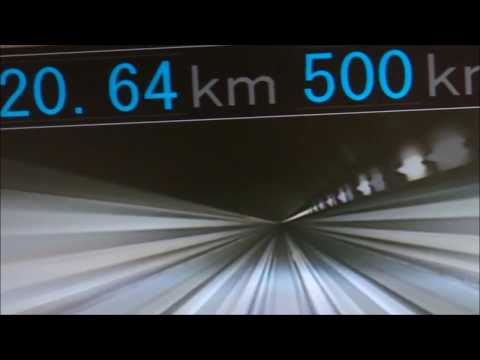 500k/m!!!超電導リニア体験乗車を一部始終 / Superconducting Magnetic Levitation Railway / Experience ride