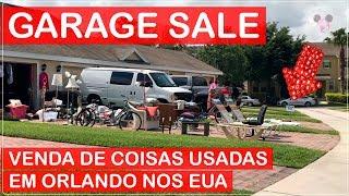 GARAGE SALE Compra de USADOS em ORLANDO nos EUA