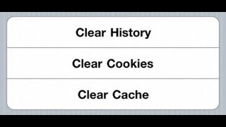 How To Clear Browser Cache | 2014 | How To Clear Cache In ALL BROWSERS!