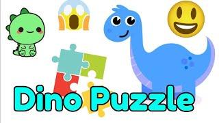 Dinosaur puzzle for children's - Dino's puzzle fun