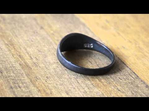 Beach metal detecting find - ring found on the beach