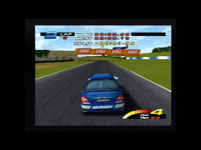 Toca Touring Cars Championship (Playstation Gameplay) PAL