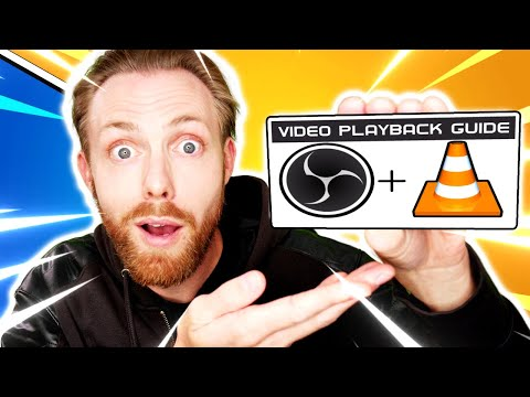 OBS Studio: Ultimate Video Playback Guide (OBS Studio Tutorial - VLC Video Source + YouTube Videos)