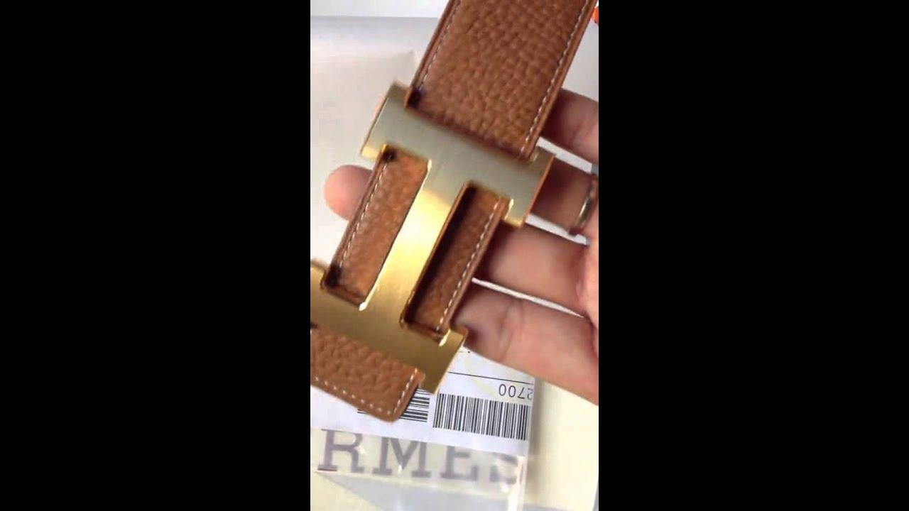 9d5563b15d76 www.realization.fr - Hermes ceinture avis - YouTube