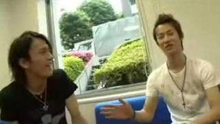 Nakagauchi Masataka & Baba Tooru TV Homme interview (Summer 2009). ...