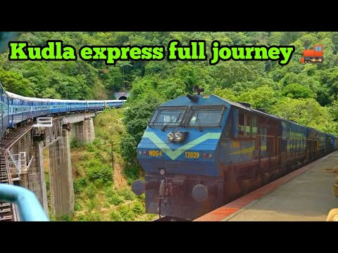 Kudla express: Green journey, from Yeswantpur to Kabakaputtur