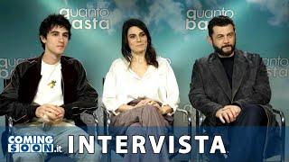 Quanto Basta: Intervista di Coming Soon a Vinicio Marchioni, Valeria Solarino e Luigi Fedele   HD