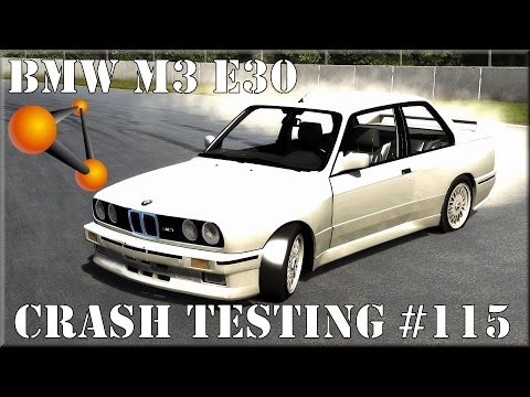beamng drive 1987 bmw m3 e30 crash testing 115 hd please. Black Bedroom Furniture Sets. Home Design Ideas