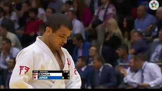 Georgia vs Japan - Semi-Final - Judo World Championship Teams Chelyabinsk 2014