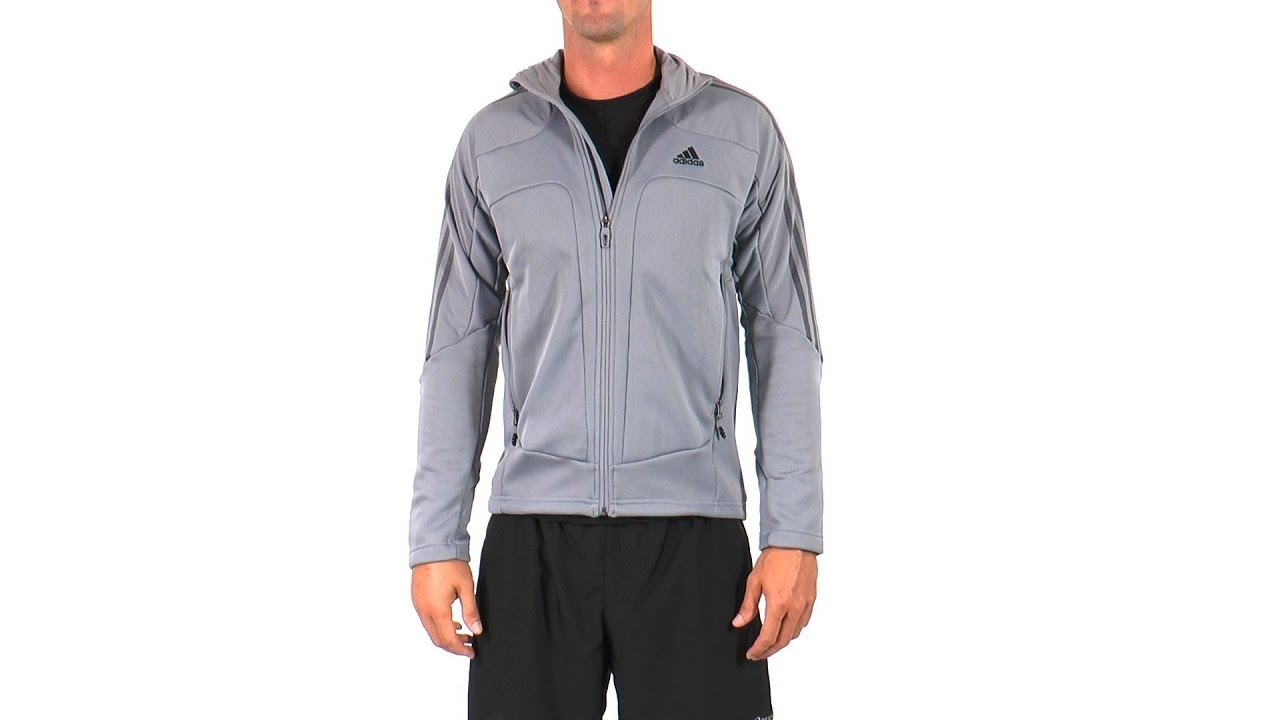 Adidas Men's Terrex Swift Fleece Running Jacket | SwimOutlet.com ...