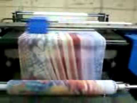 Textile Digital Ink-Jet Printing Machine mp4