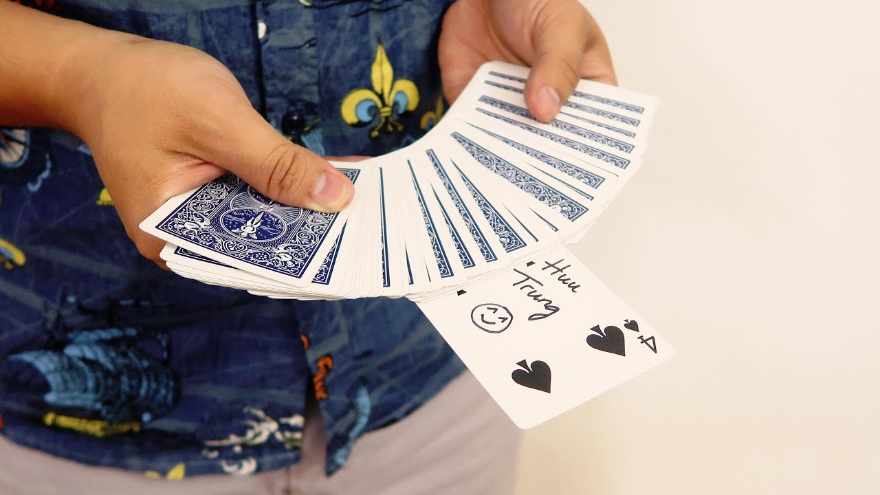 4 easy card tricks you can learn in 5 minutes  youtube