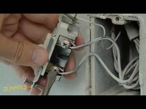 Wiring Up A Dimmer Light Switch: How to Replace a Standard Switch with a Dimmer Switch For Dummies rh:youtube.com,Design