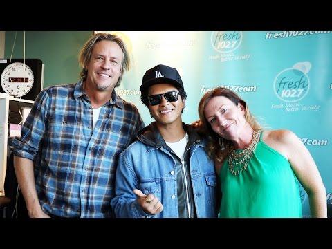 Bruno Mars Talks '24K Magic'