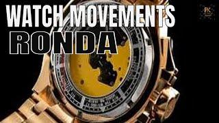 Are Invicta Watch Movements Good? : Ronda Watch Movements