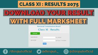 Hseb marksheet 2072 management
