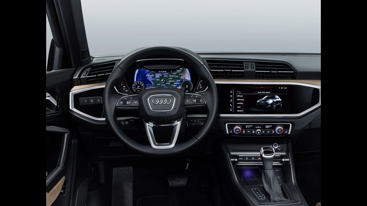 audi q3 2019 das cockpit youtube. Black Bedroom Furniture Sets. Home Design Ideas