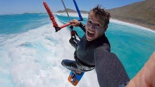 Jumping over BIG waves KEVVLOG #227