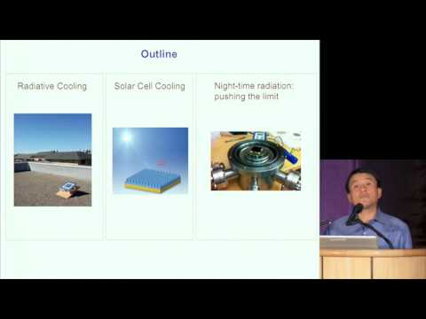 Shanhui Fan | Nighttime radiative cooling: Harvesting the darkness of the universe