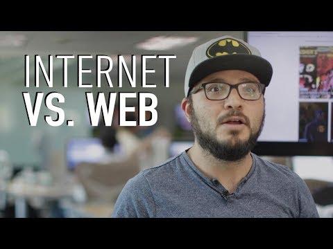 ¿Cuál es la diferencia entre Internet y Web?