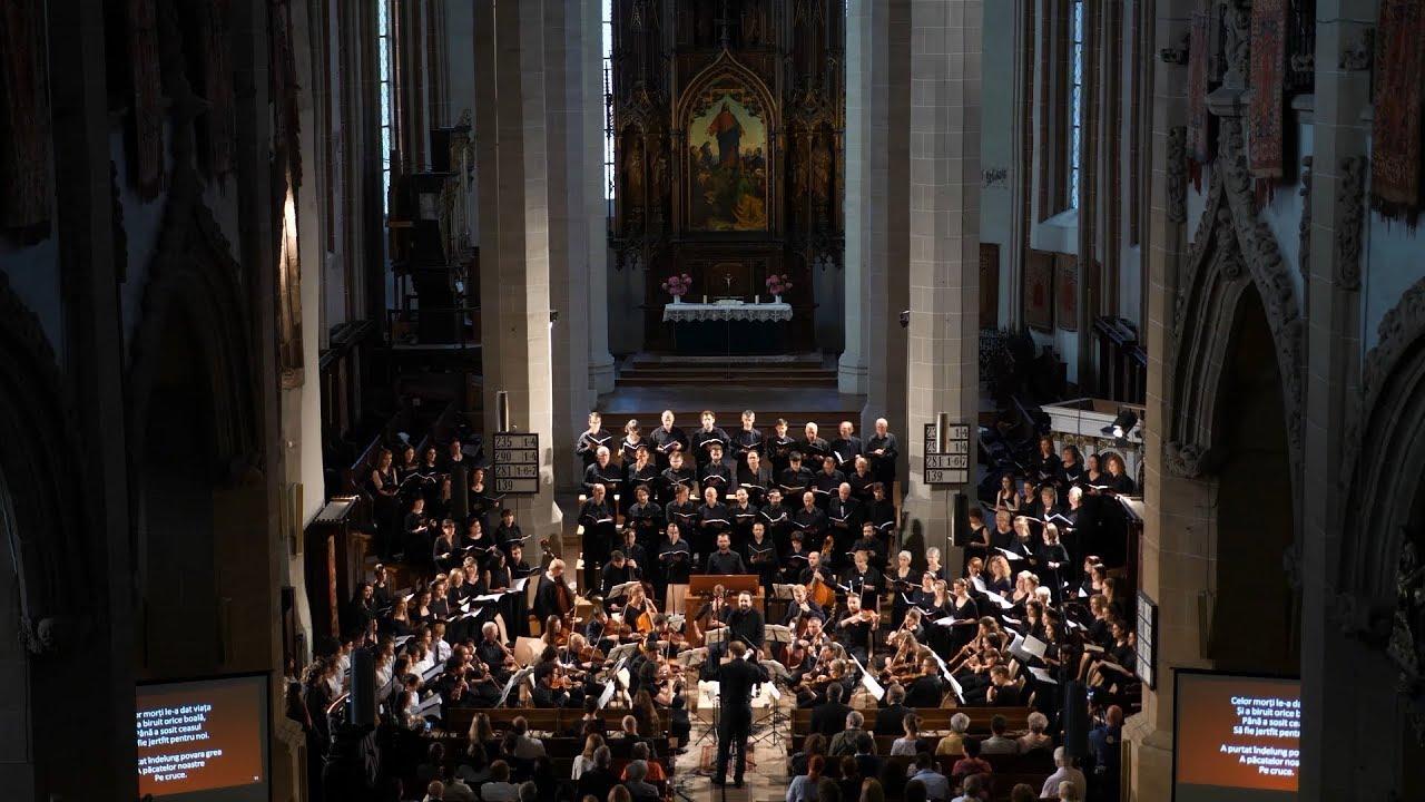 J.S. Bach - Matthäus-Passion ( Black Church - Schwarze Kirche - Biserica Neagră - Fekete Templom )