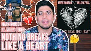 Nothing Breaks Like a Heart - Mark Ronson ft. Miley Cyrus | VIDEO REACCIÓN Video