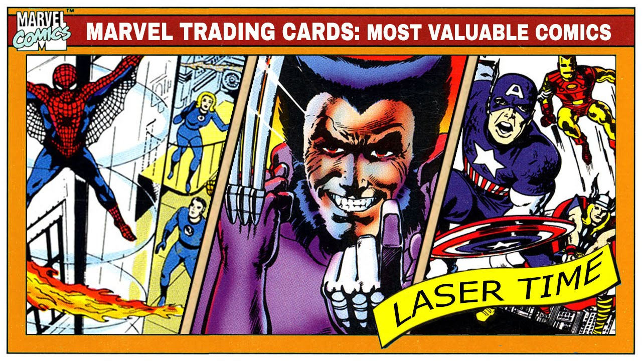 Marvel Trading Card Analysis - Most Valuable Comics