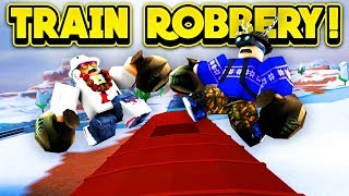 INSANE TRAIN ROBBERY GLITCHES! (ROBLOX Jailbreak)