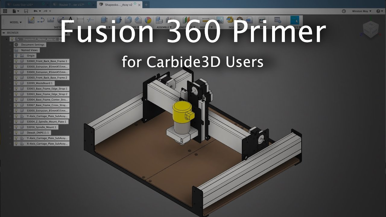 Intro to Fusion 360 for CNC Users