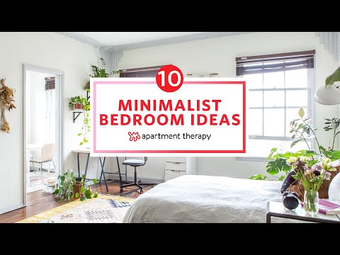 10 Minimalist Bedroom Ideas Apartment Therapy Youtube