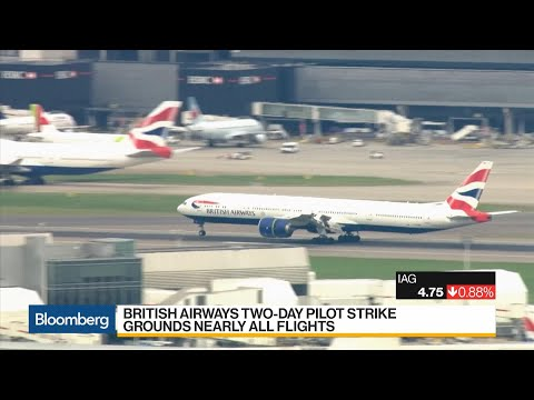 British Airways Pilots' Two-Day Strike Grounds Nearly All Flights