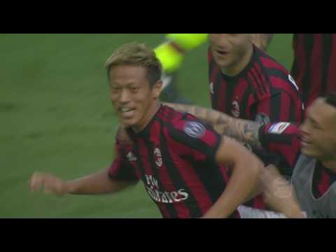 Il gol di Honda - Milan - Bologna - 3-0 - Giornata 37 - Serie A TIM 2016/17