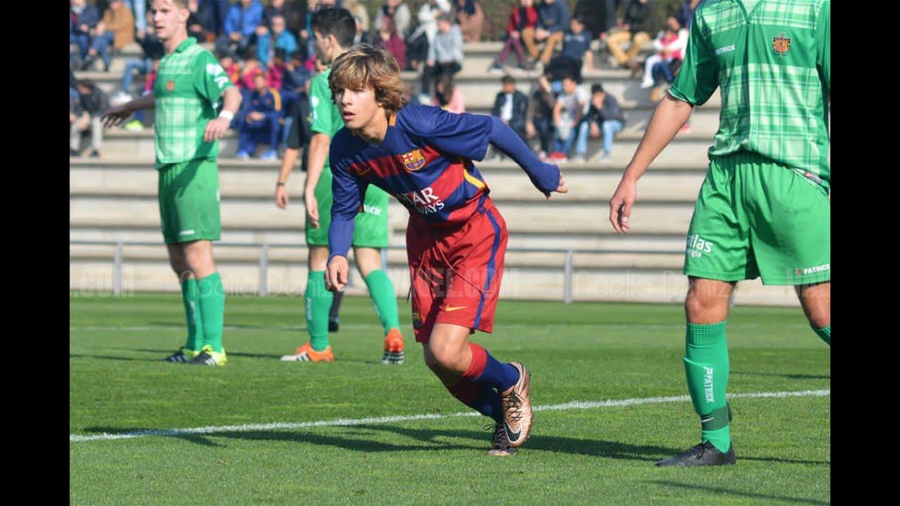 Download Riqui Puig vs Cornellà (30.01.16) ● Juvenil B