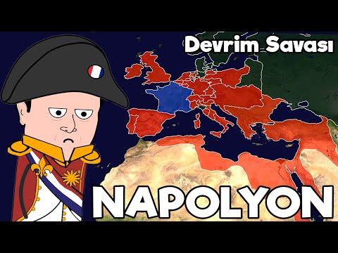 Avrupa`nın En Büyük Adamı: NAPOLYON - Haritalı Hızlı Anlatım!