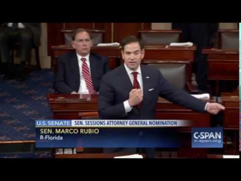 Marco Rubio: Senators on Verge of Throwing Chairs at Each Other