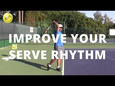 Tennis Serve Tip: Improve Your Serve Rhythm