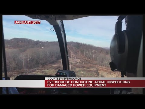 Eversource Conducting Aerial Inspections For Damaged Power Equipment