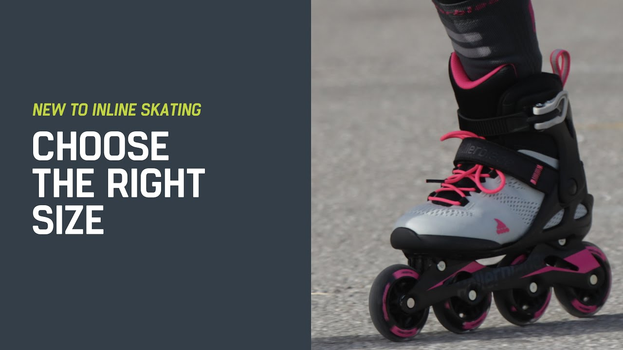 New To Inline Skating Choose The Right Size Youtube