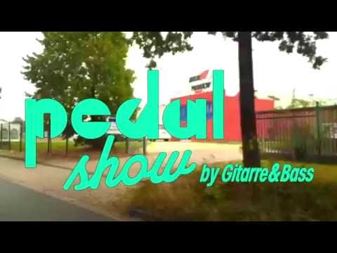 OPEN NOW! Gitarre & Bass PEDAL SHOW 2016 bei Musik Produktiv