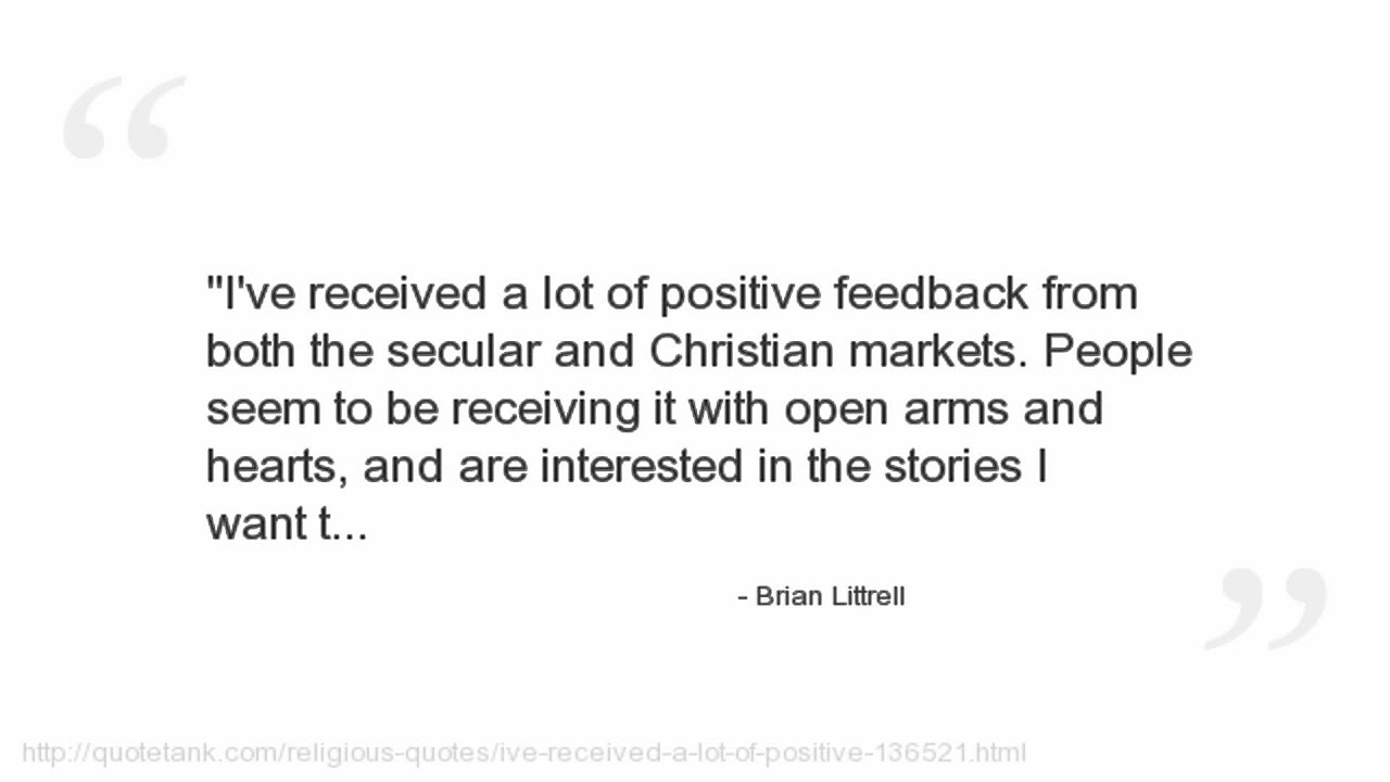 Positive Christian Quotes Brian Littrell Quotes  Youtube