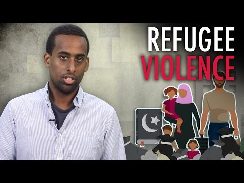 """Refugee"" vs. Swedish Female Cops"