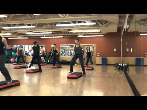 Step Aerobic Dance Choreography. Thong Song. West Seattle Athletic Club