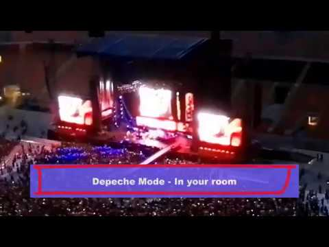 depeche mode in your room 27 06 2017 san siro milano live milan youtube