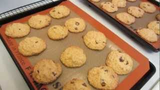 Gluten Free Oatmeal Peanut Butter Chocolate Chip Cookies