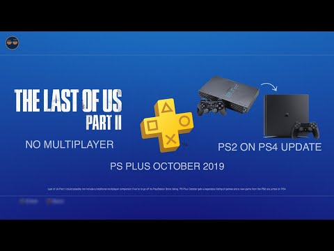 PSN / PS4 Update - PS2 Era Game On PS4 | PS Plus October 2019 ! | Last Of Us 2 NO MULTI...